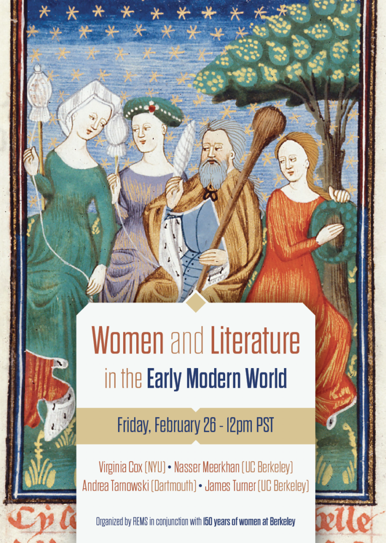 Women and Literature in the Early Modern World